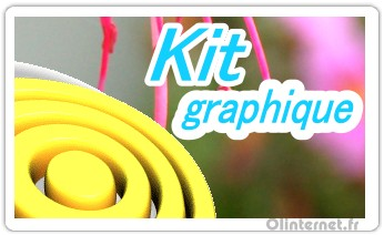 Kit graphique design